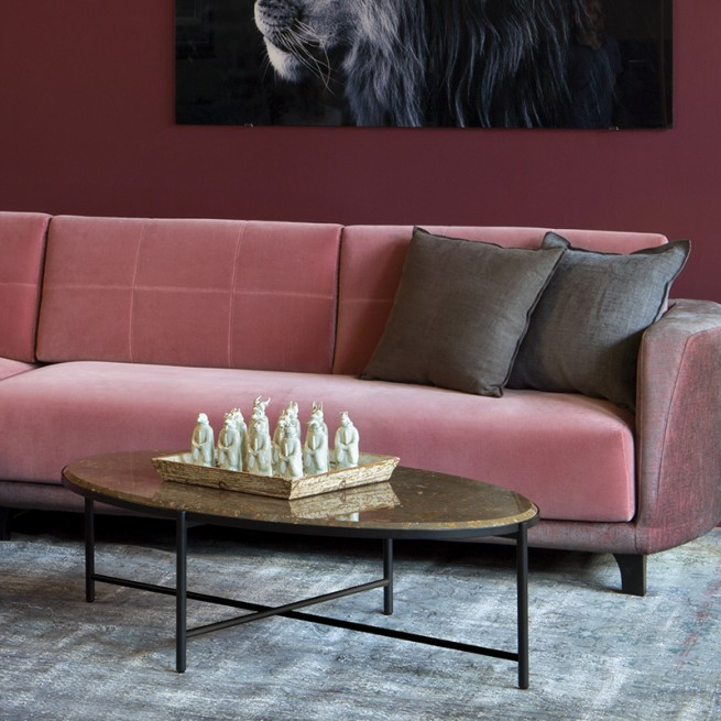 Masute de cafea Alma Design, Magenta coffee table