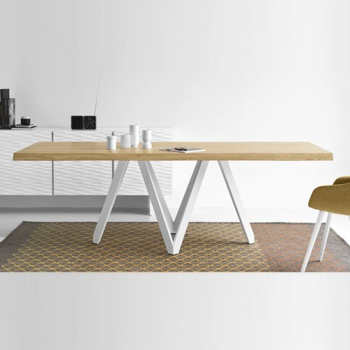 Masa dining Calligaris Cartesio CS/4092-RC 200