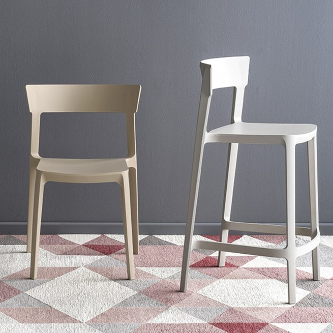 Scaun bar Calligaris Skin Stool