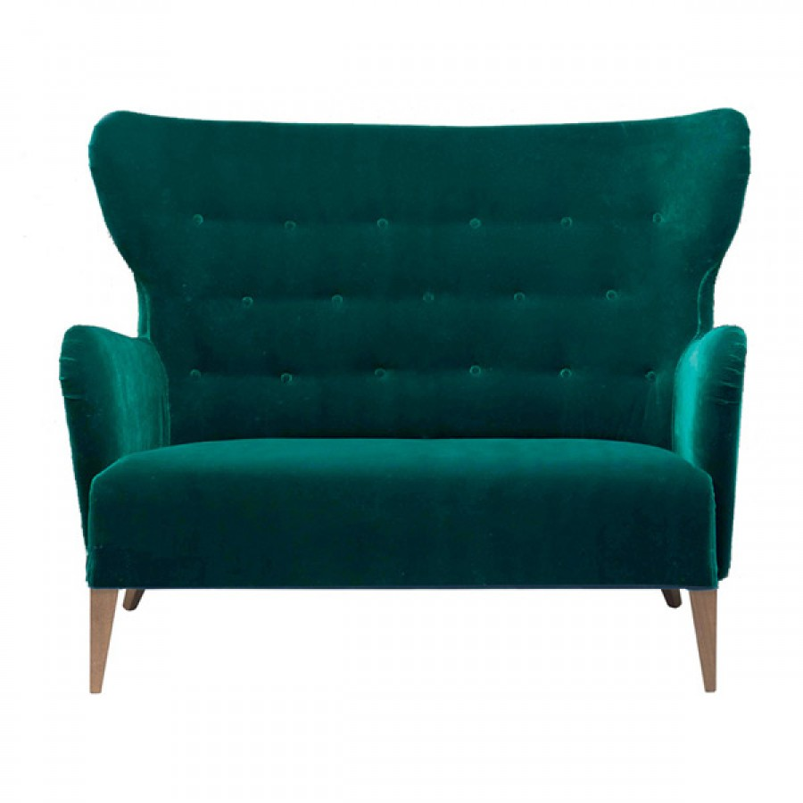 Canapea cu doua locuri pentru lounge Contractin, Duke1 2P