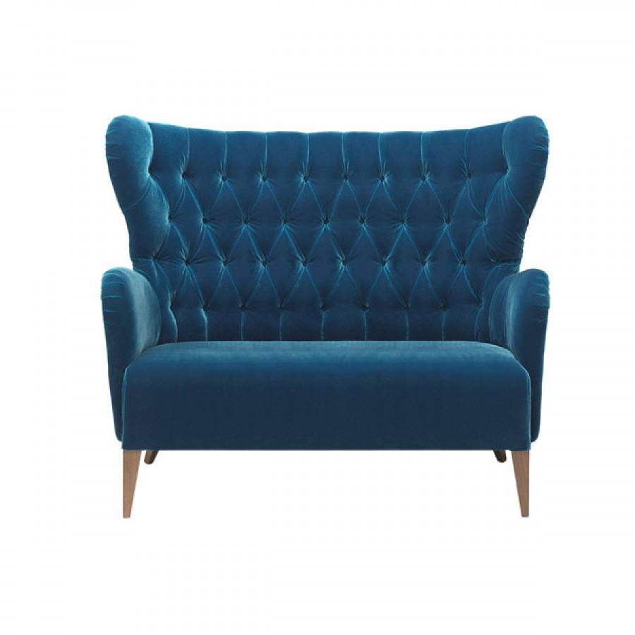 Canapea cu doua locuri pentru lounge Contractin, Duke2 2P