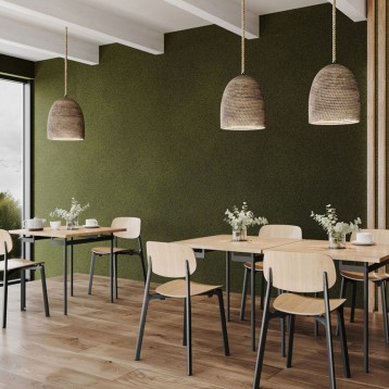 Tapet acustic Fluffo, Wallcovering