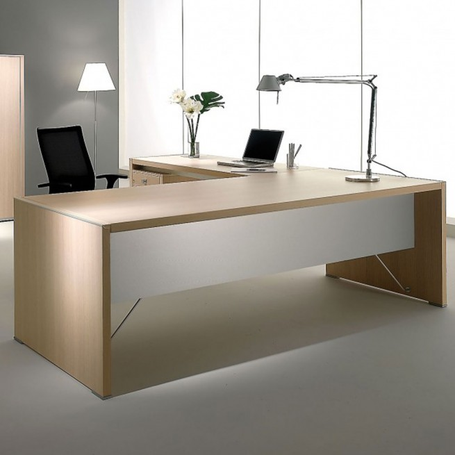 Birou executiv Ideal Form Team, Electa Limed Oak