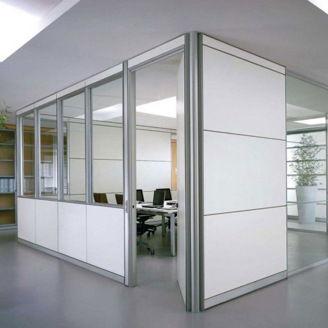 Partitii birouri Ideal Form Team, Modular Equipped System Partition