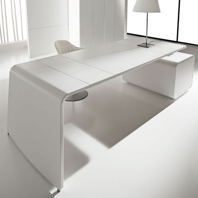 Birou executiv deal Form Team, Sestante White Leather