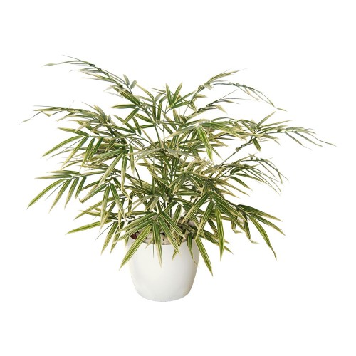 Planta semi-artificiala Ila, Bamboo Japaness Bush - 60 cm