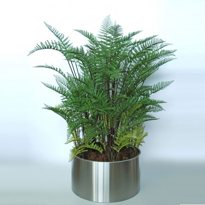Planta semi-artificiala Ila, Fern Boschetto Green - 170 cm
