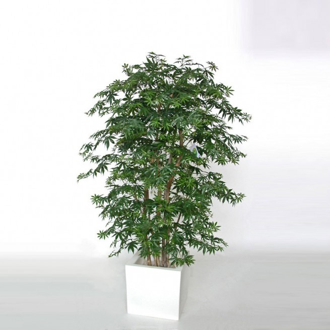 Planta semi-artificiala Ila, Maple Boschetto Green - 180 cm
