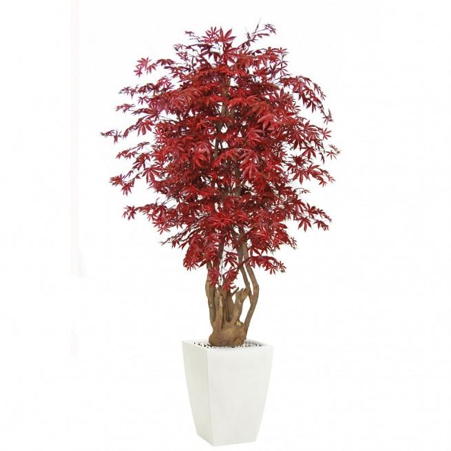 Planta semi-artificiala Ila, Maple Malabar Burgundy - 200 cm