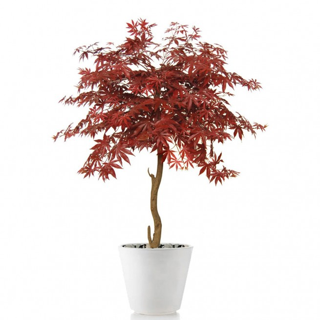 Planta semi-artificiala Ila, Maple Topiary Burgundy - 120 cm