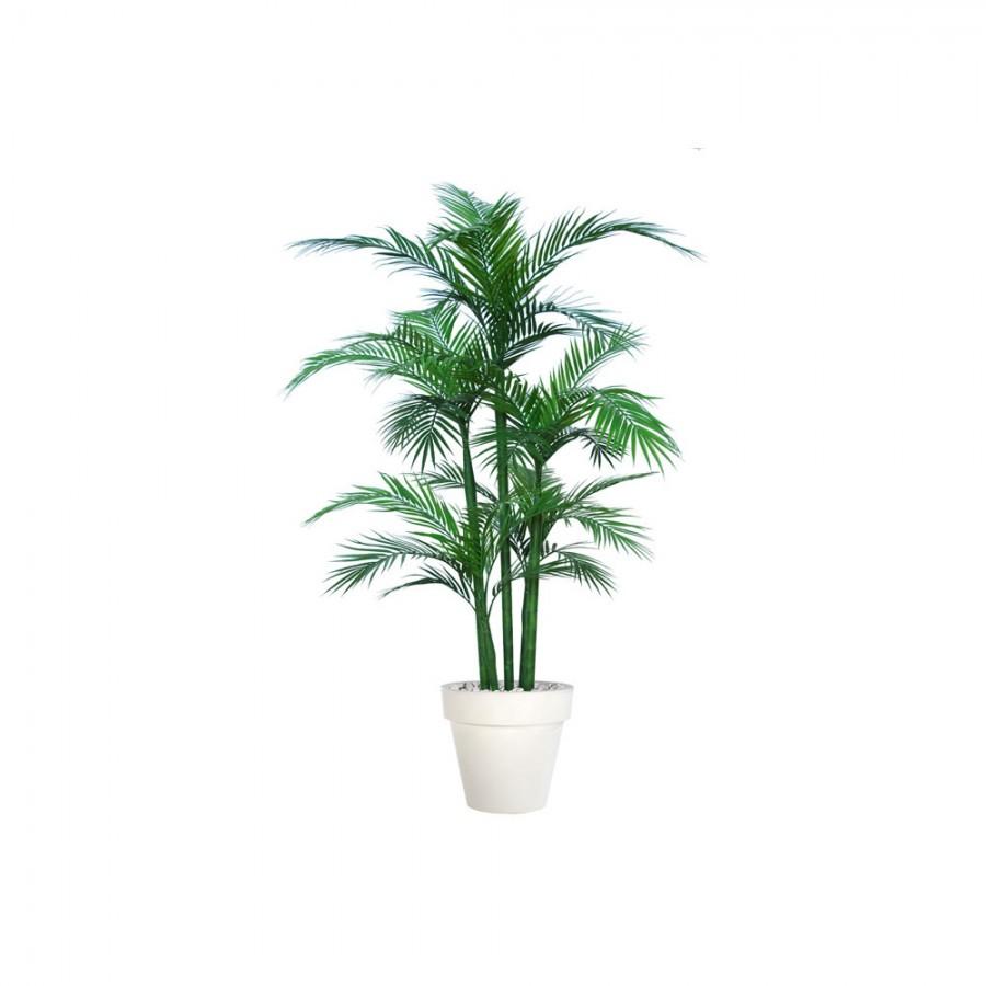 Planta semi-artificiala Ila, Areca UVR Boschetto Green - 200 cm