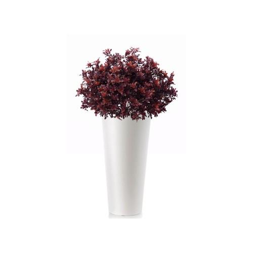 Planta semi-artificiala Ila, Buxus UVR Bush Burgund - 70 cm