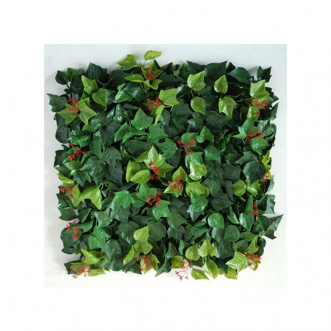 Planta semi-artificiala Ila, Mat Ivy UVR Green - 50 x 50 cm