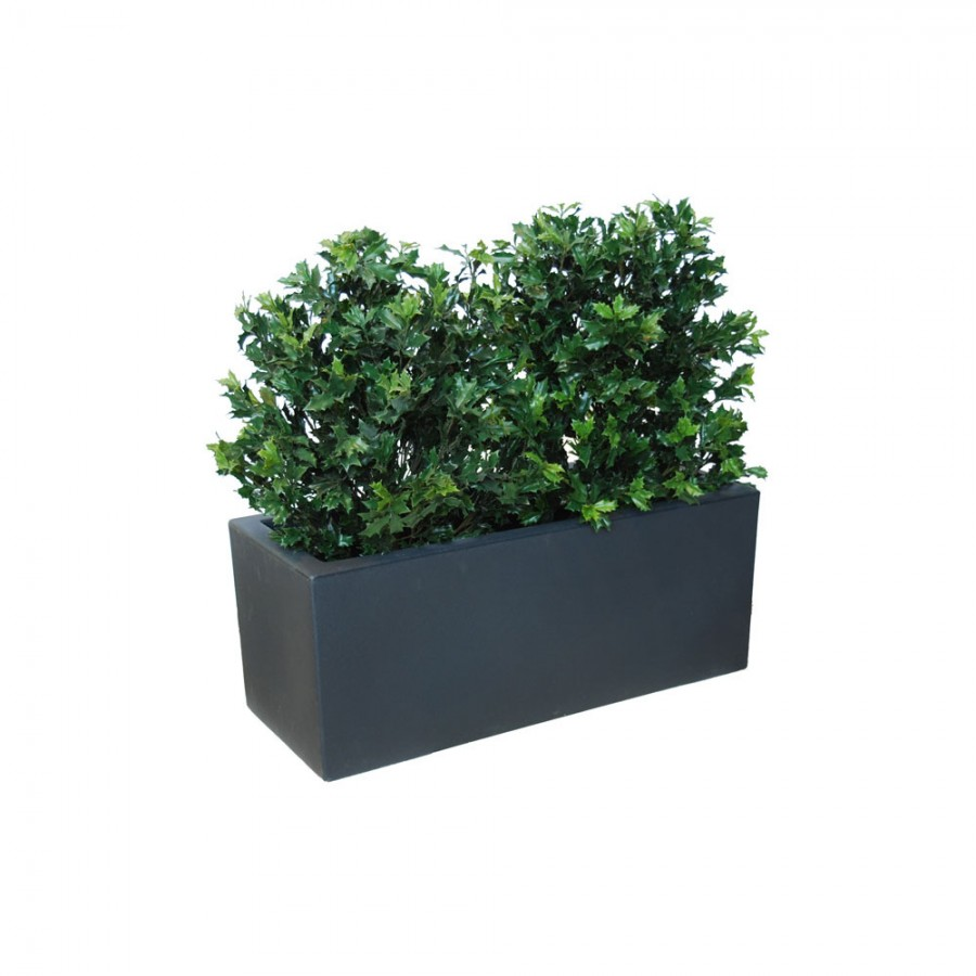 Planta semi-artificiala Ila, Osmanthus UVR Fence Green - 110 cm