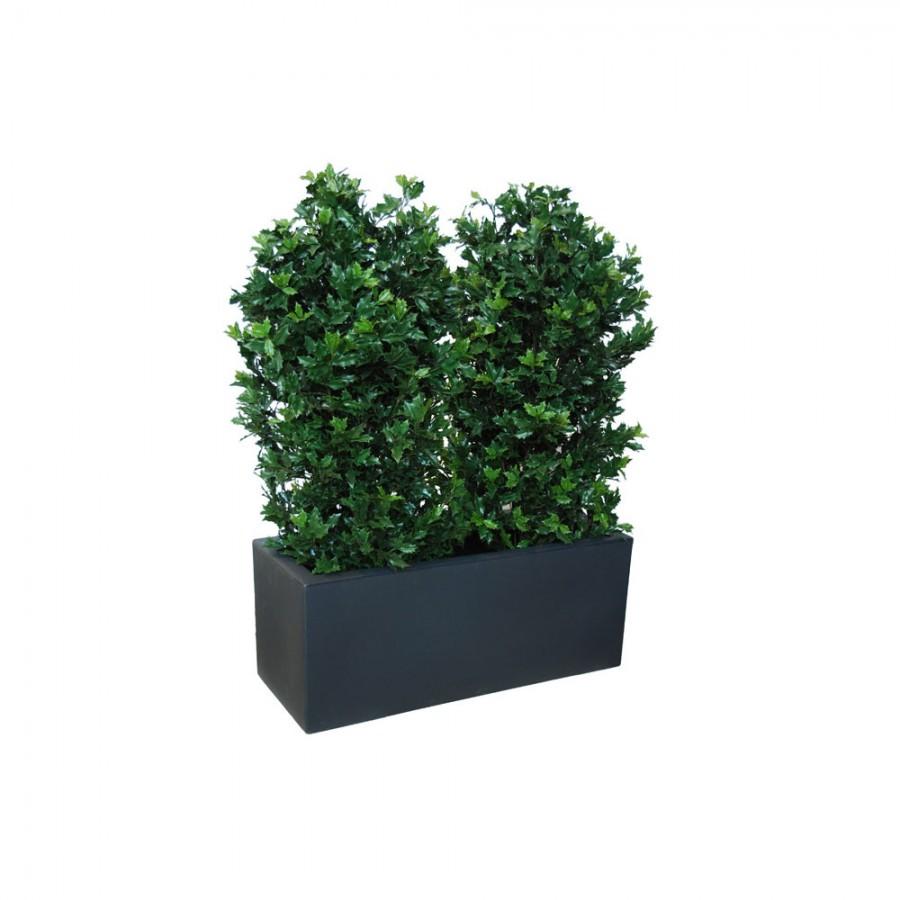 Planta semi-artificiala Ila, Osmanthus UVR Fence Green - 160 cm