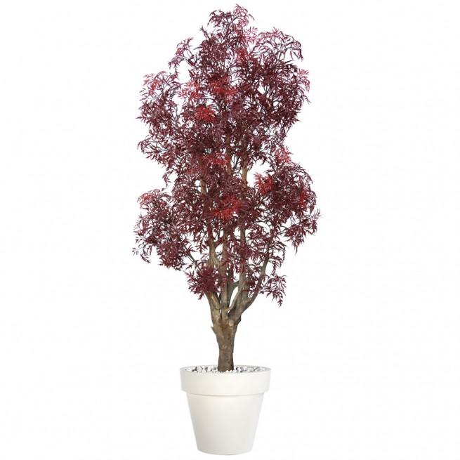 Planta semi-artificiala Ila, Aralia Malabar Burgundy - 170 cm