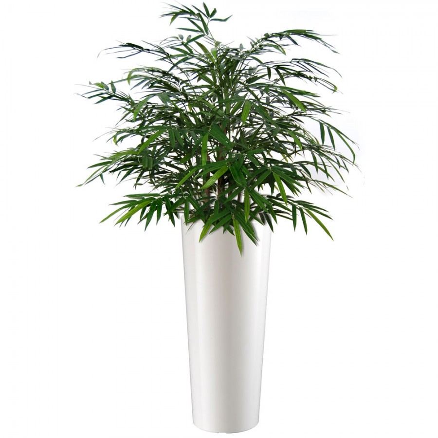 Planta semi-artificiala Ila, Bamboo Japanese Bush Green - 80 cm