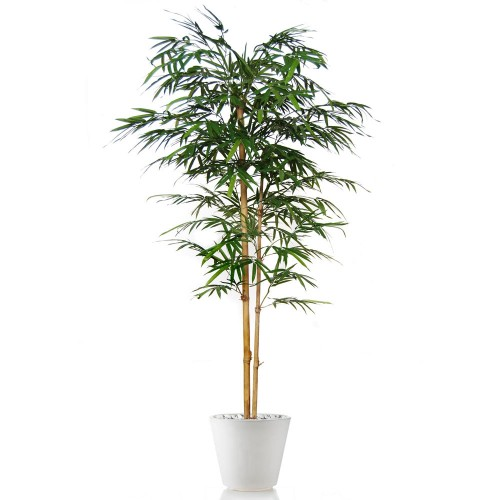 Planta semi-artificiala Ila, Bamboo Japanese Green - 180 cm