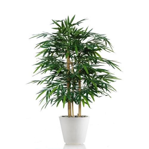Planta semi-artificiala Ila, Bamboo Wild Bush  - 120 cm