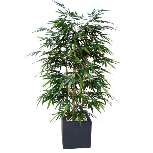 Planta semi-artificiala Ila, Bamboo Wild Bush Green - 180 cm