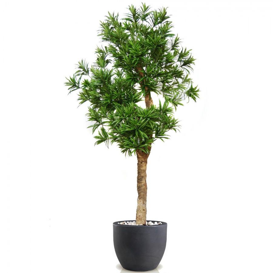 Planta semi-artificiala Ila, Dracena Reflexa Drago Green - 280 cm