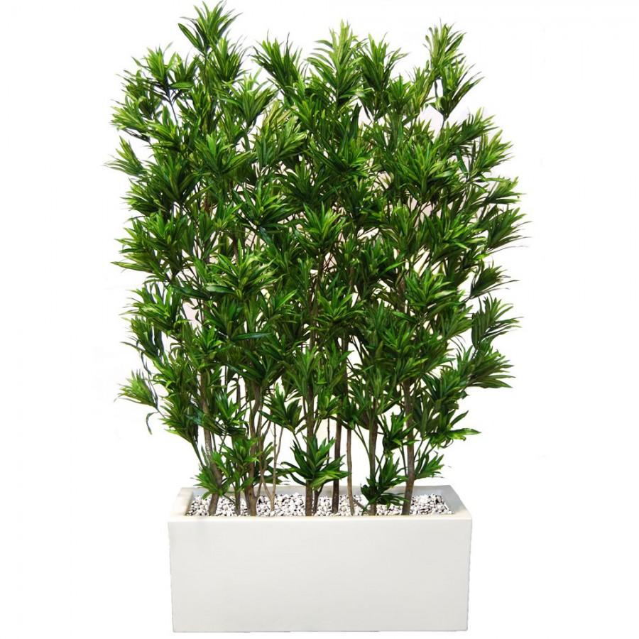 Planta semi-artificiala Ila, Dracaena Reflexa Fence - 180 cm