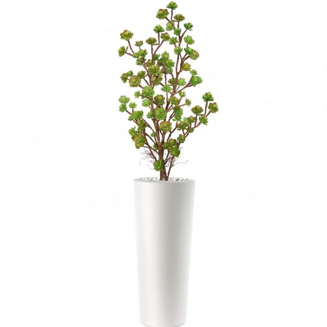 Planta semi-artificiala Ila, Echeveria Plant Lux Multicolor - 170 cm