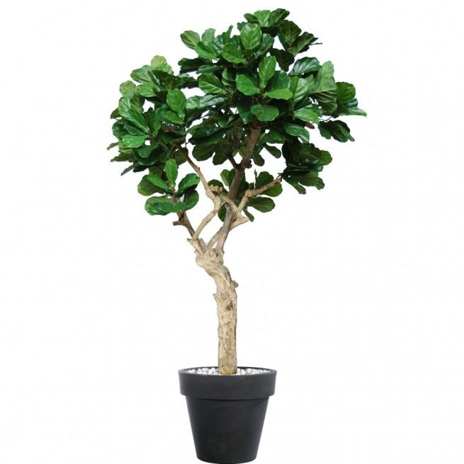 Planta semi-artificiala Ila, Ficus Lyrata Nidra Green - 250 cm