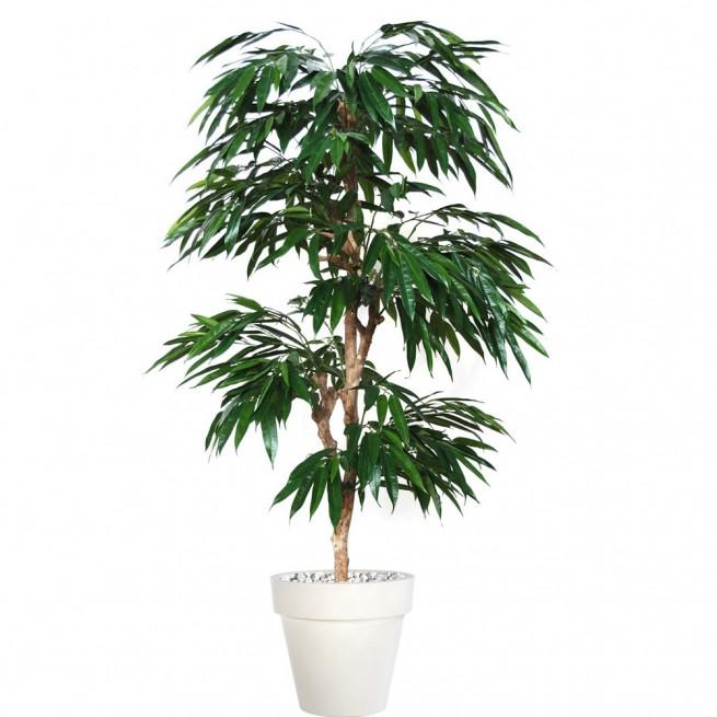 Planta semi-artificiala Ila, Longifolia Mutistep Green - 180 cm