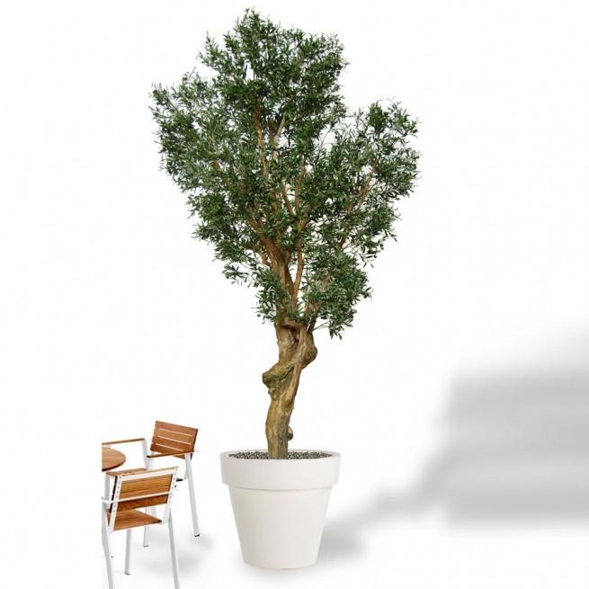 Planta semi-artificiala Ila, Olive Garda Green - 350 cm