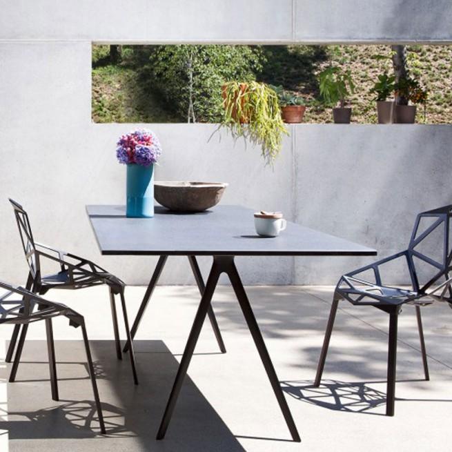Masa pentru uz comercial, interior - exterior, Magis Baguette