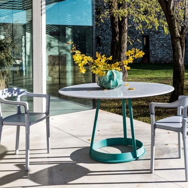 Masa pentru uz comercial, interior - exterior, Magis Brut