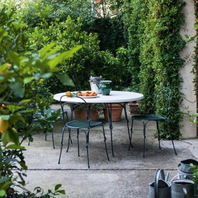 Masa pentru uz comercial, interior - exterior, Magis Vigna