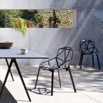 Scaun pentru dining, interior - exterior, Magis Chair_One