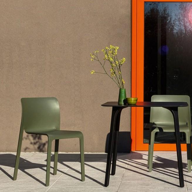 Scaun pentru dining, interior - exterior, Magis First