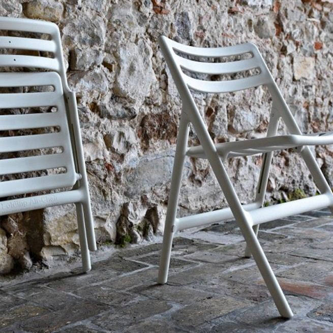 Scaun pentru dining, interior - exterior, Magis Folding Air-Chair
