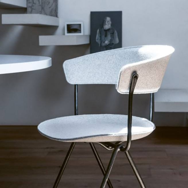 Scaun pentru dining, interior - exterior, Magis Officina