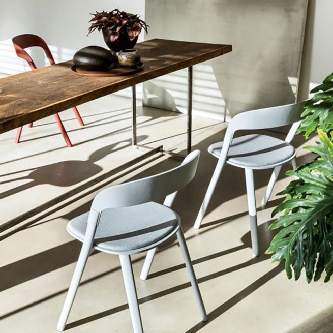 Scaun pentru dining, interior - exterior, Magis Pila