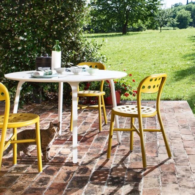 Scaun pentru dining, interior - exterior, Magis Pipe