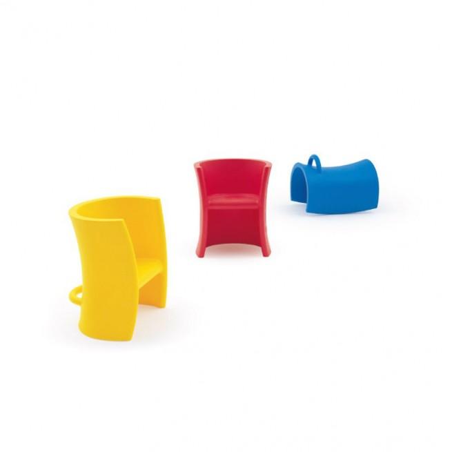 Scaun pentru copii, interior - exterior, Magis Trioli