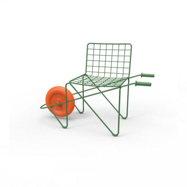 Scaun pentru copii, interior - exterior, Magis Trotter