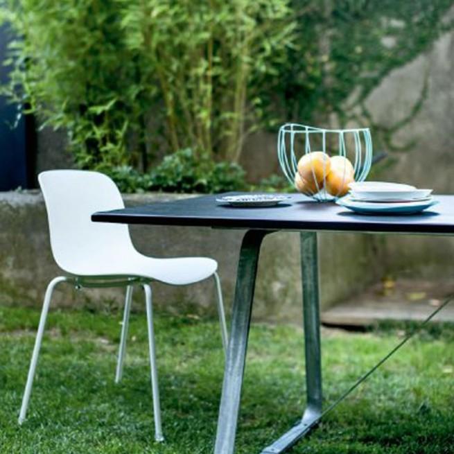 Scaun pentru dining, interior - exterior, Magis Troy