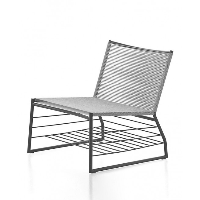 Scaun comercial din otel si PVC Della Valentina Office AT Lounge CHAIR-04
