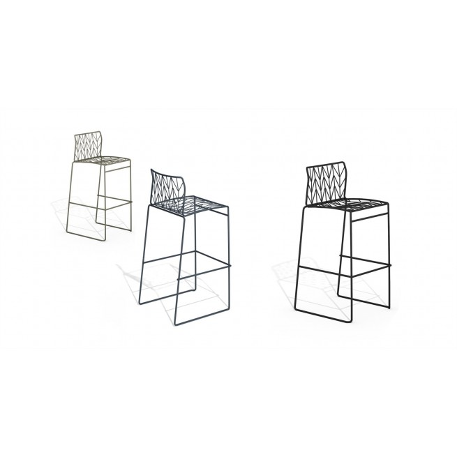 Scaune bar Della Valentina Office Fishbone Stool