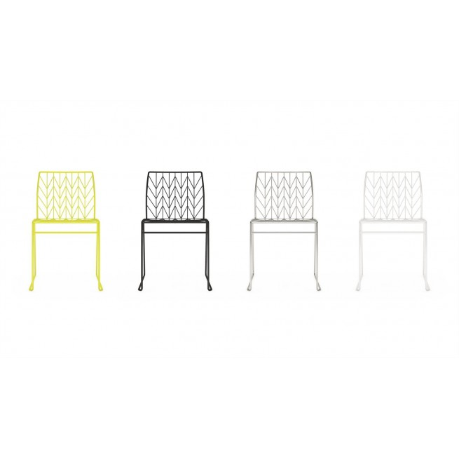 Scaune exterior Della Valentina Office Fishbone chair