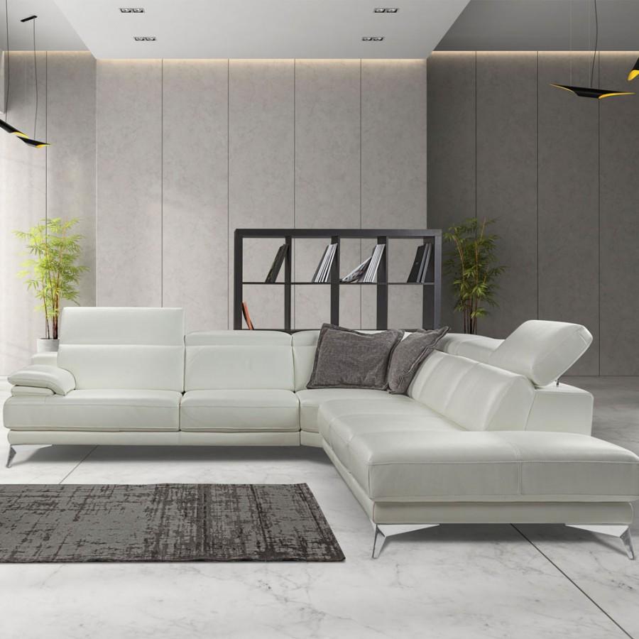 Canapea de piele Nicoletti Home Idris
