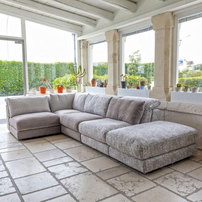 Canapea de stofa Nicoletti Home Perle2