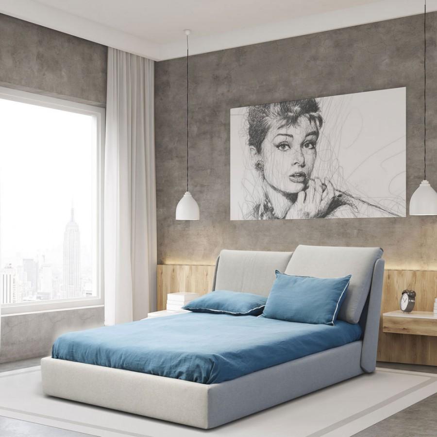 Pat dublu modern Nicoletti Home Edith