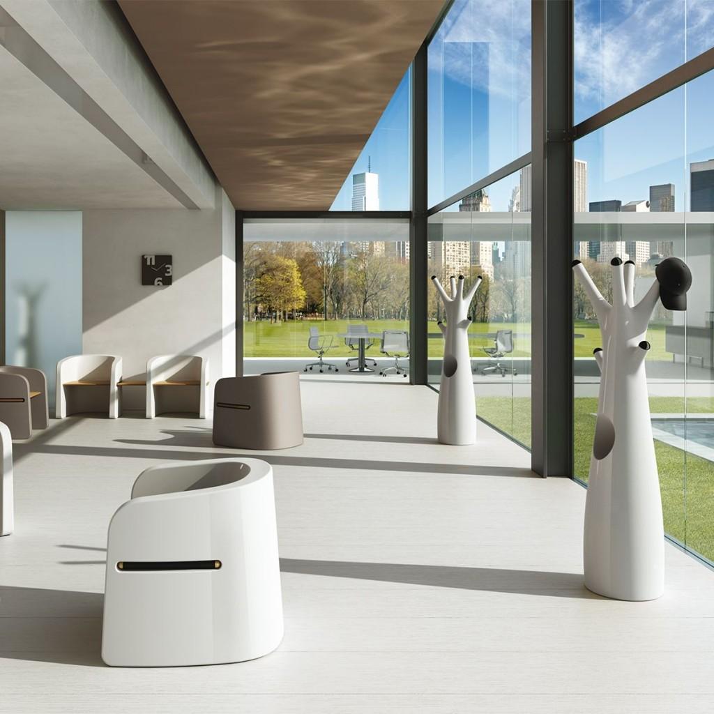 Banca exterior din polietilena Talea Bench - Nuovo Design