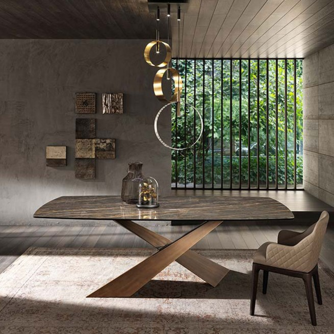 Masa dining Riflessi Living Ceramic Table